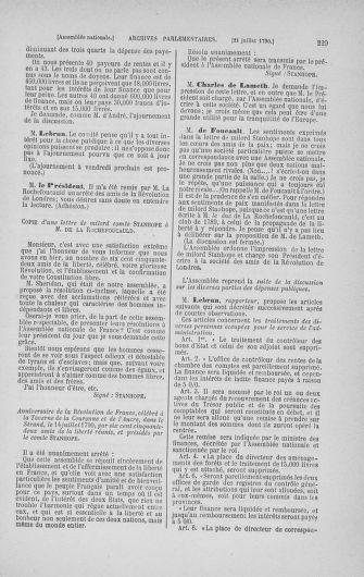 Tome 17 : Du 9 juillet au 12 août 1790 - page 229