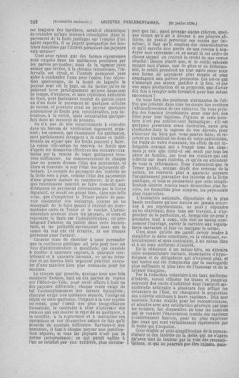 Tome 17 : Du 9 juillet au 12 août 1790 - page 242