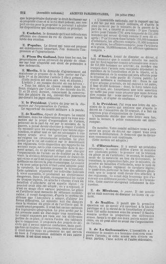 Tome 17 : Du 9 juillet au 12 août 1790 - page 264