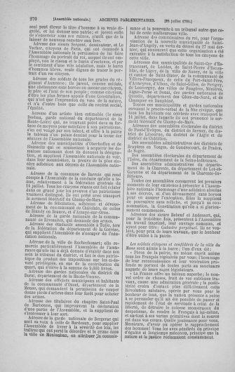 Tome 17 : Du 9 juillet au 12 août 1790 - page 270