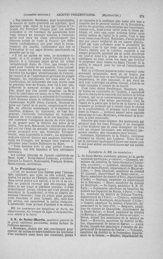 Tome 17 : Du 9 juillet au 12 août 1790 - page 271
