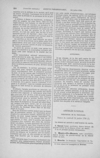 Tome 17 : Du 9 juillet au 12 août 1790 - page 298