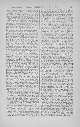 Tome 17 : Du 9 juillet au 12 août 1790 - page 311