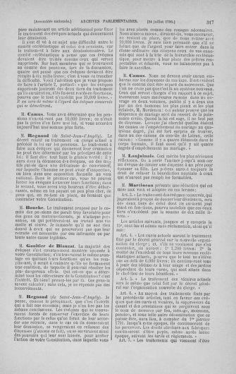 Tome 17 : Du 9 juillet au 12 août 1790 - page 317
