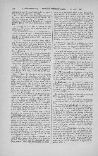 Tome 17 : Du 9 juillet au 12 août 1790 - page 318