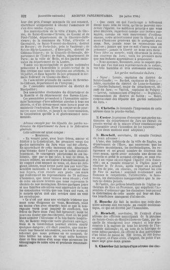 Tome 17 : Du 9 juillet au 12 août 1790 - page 322