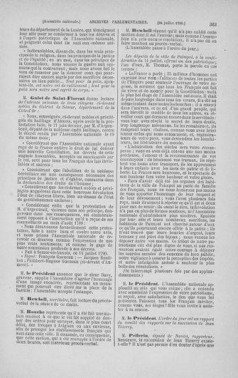 Tome 17 : Du 9 juillet au 12 août 1790 - page 323