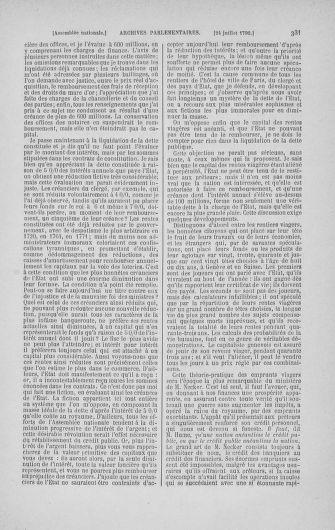 Tome 17 : Du 9 juillet au 12 août 1790 - page 331