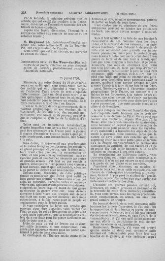 Tome 17 : Du 9 juillet au 12 août 1790 - page 338