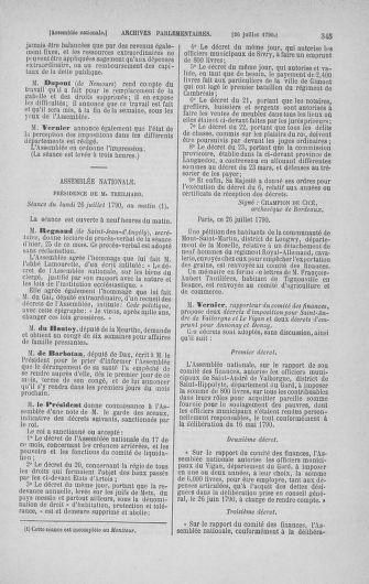 Tome 17 : Du 9 juillet au 12 août 1790 - page 345