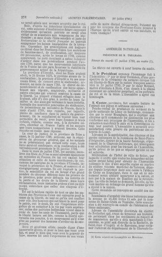 Tome 17 : Du 9 juillet au 12 août 1790 - page 378