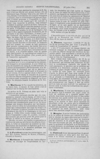 Tome 17 : Du 9 juillet au 12 août 1790 - page 381