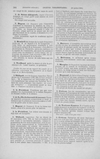 Tome 17 : Du 9 juillet au 12 août 1790 - page 384