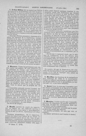 Tome 17 : Du 9 juillet au 12 août 1790 - page 385