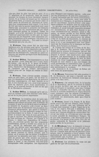 Tome 17 : Du 9 juillet au 12 août 1790 - page 389