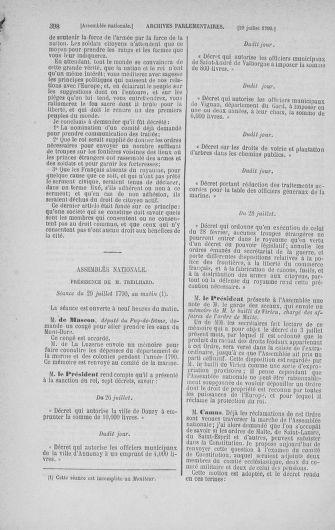 Tome 17 : Du 9 juillet au 12 août 1790 - page 398