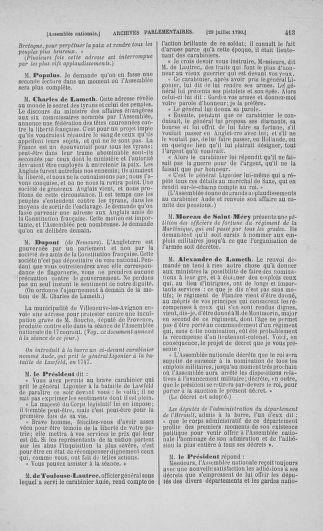 Tome 17 : Du 9 juillet au 12 août 1790 - page 413