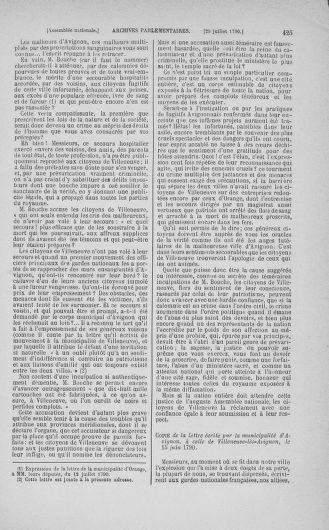 Tome 17 : Du 9 juillet au 12 août 1790 - page 425