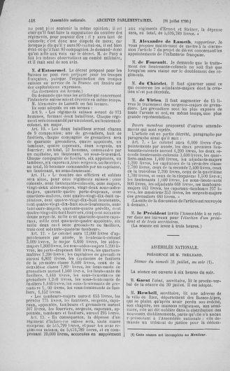 Tome 17 : Du 9 juillet au 12 août 1790 - page 448