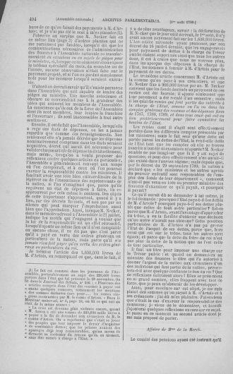 Tome 17 : Du 9 juillet au 12 août 1790 - page 494