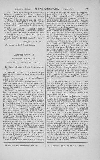 Tome 17 : Du 9 juillet au 12 août 1790 - page 505
