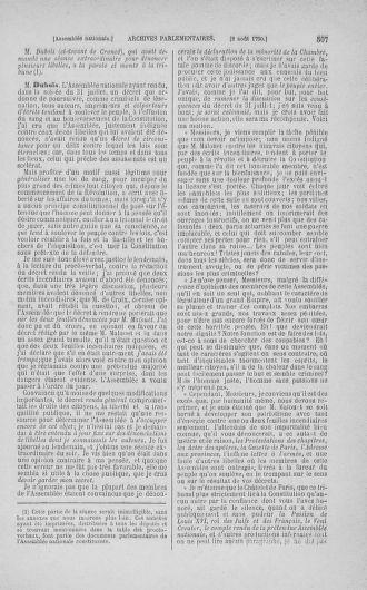 Tome 17 : Du 9 juillet au 12 août 1790 - page 507