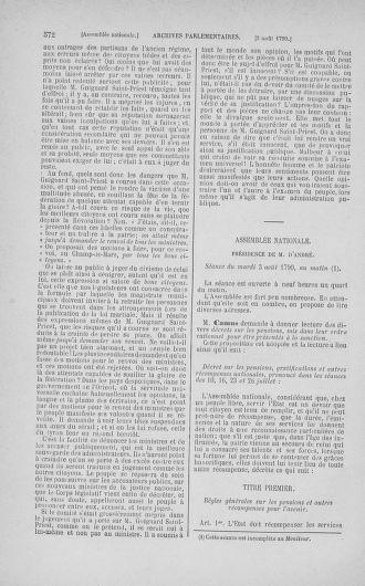 Tome 17 : Du 9 juillet au 12 août 1790 - page 572