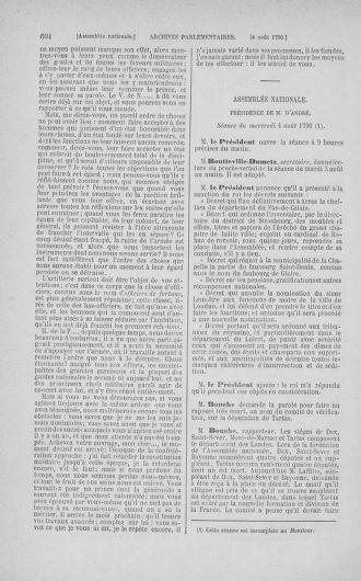 Tome 17 : Du 9 juillet au 12 août 1790 - page 604