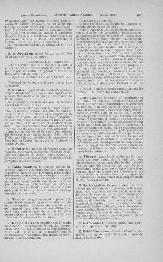 Tome 17 : Du 9 juillet au 12 août 1790 - page 605