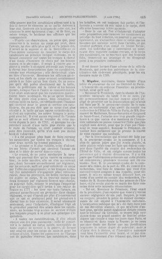Tome 17 : Du 9 juillet au 12 août 1790 - page 615