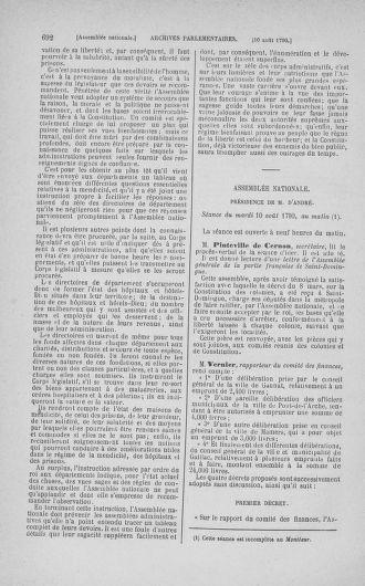 Tome 17 : Du 9 juillet au 12 août 1790 - page 692