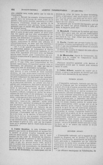 Tome 17 : Du 9 juillet au 12 août 1790 - page 694