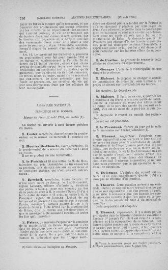 Tome 17 : Du 9 juillet au 12 août 1790 - page 736