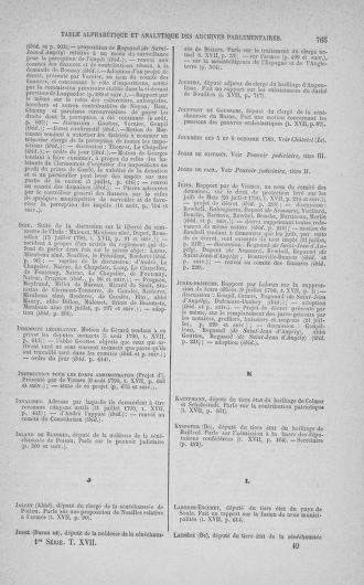 Tome 17 : Du 9 juillet au 12 août 1790 - page 765