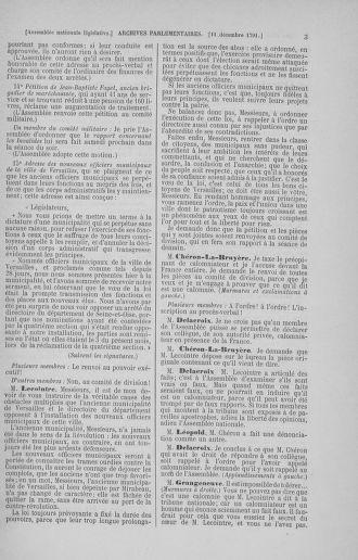 Tome 36 : Du 11 décembre 1791 au 1er janvier 1792 - page 3