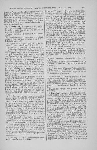 Tome 36 : Du 11 décembre 1791 au 1er janvier 1792 - page 21