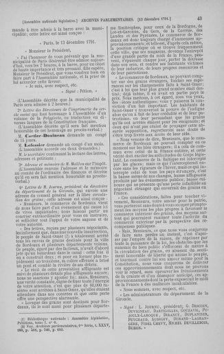Tome 36 : Du 11 décembre 1791 au 1er janvier 1792 - page 43