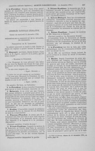 Tome 36 : Du 11 décembre 1791 au 1er janvier 1792 - page 107