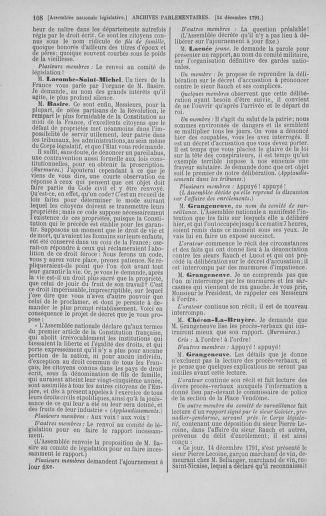 Tome 36 : Du 11 décembre 1791 au 1er janvier 1792 - page 108