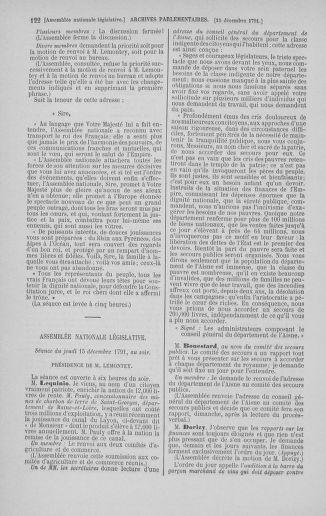 Tome 36 : Du 11 décembre 1791 au 1er janvier 1792 - page 122
