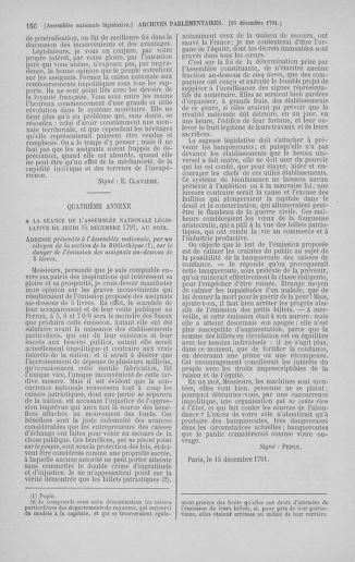 Tome 36 : Du 11 décembre 1791 au 1er janvier 1792 - page 156