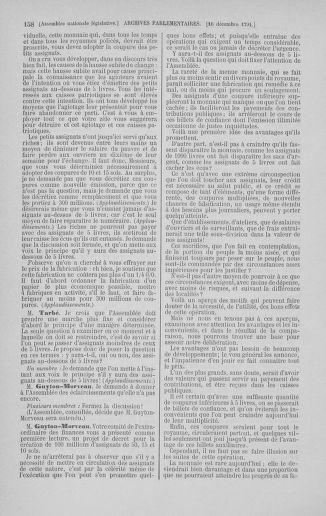 Tome 36 : Du 11 décembre 1791 au 1er janvier 1792 - page 158