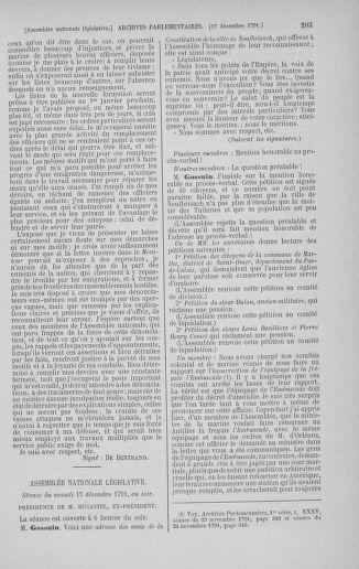 Tome 36 : Du 11 décembre 1791 au 1er janvier 1792 - page 203