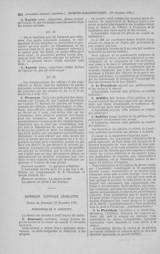 Tome 36 : Du 11 décembre 1791 au 1er janvier 1792 - page 226