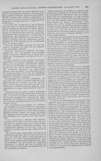 Tome 36 : Du 11 décembre 1791 au 1er janvier 1792 - page 239