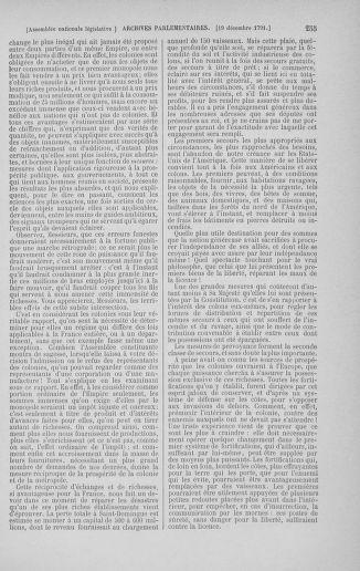 Tome 36 : Du 11 décembre 1791 au 1er janvier 1792 - page 255