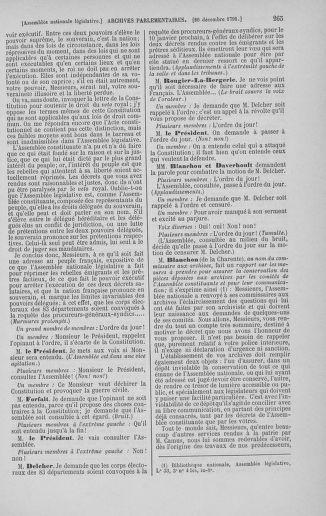 Tome 36 : Du 11 décembre 1791 au 1er janvier 1792 - page 265