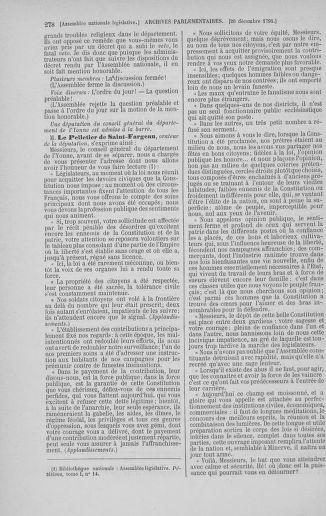 Tome 36 : Du 11 décembre 1791 au 1er janvier 1792 - page 278