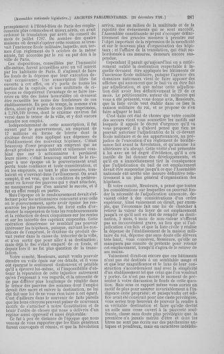 Tome 36 : Du 11 décembre 1791 au 1er janvier 1792 - page 287