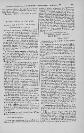Tome 36 : Du 11 décembre 1791 au 1er janvier 1792 - page 297